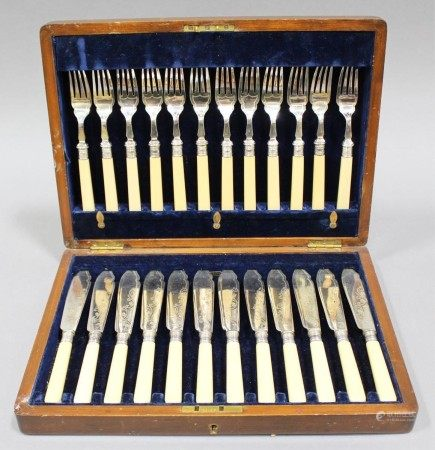 A Collection of Sterling Silver Utensils