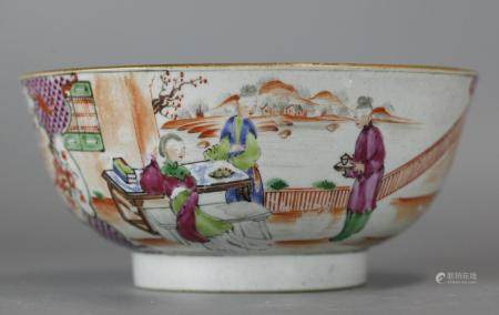 large Chinese porcelain bowl, possibly 18th c.