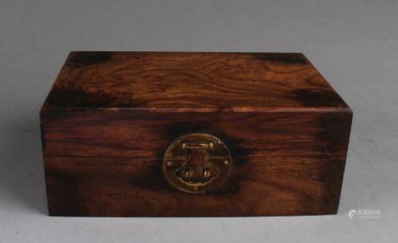 Chinese Hardwood Box