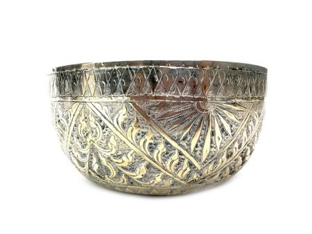 A 20TH CENTURY CHINESE SILVER BOWL