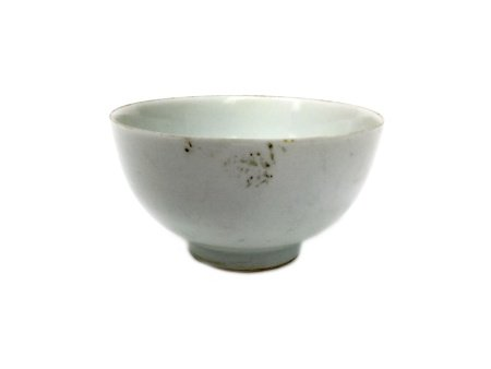 A LATE 19TH/EARLY 20TH CENTURY CHINESE BLANC DE CHINE CIRCULAR BOWL