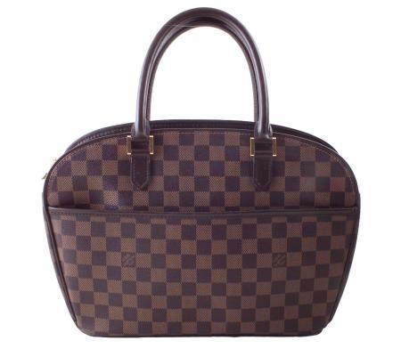 A Louis Vuitton Damier Ebene Sarria Horizontal handbag,