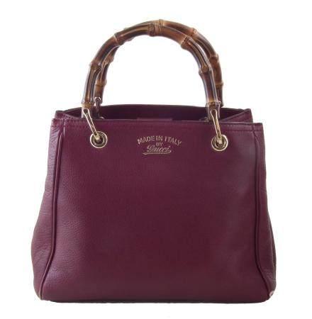 A Gucci Bamboo Top Handle handbag,