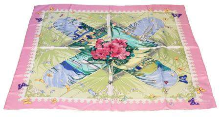 "A Hermes ""Varangues"" silk scarf by Dimitri Rybaltchenko,"