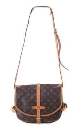 A Louis Vuitton Monogram Samur 25 handbag,