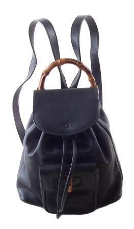 A Gucci Bamboo PM Backpack,