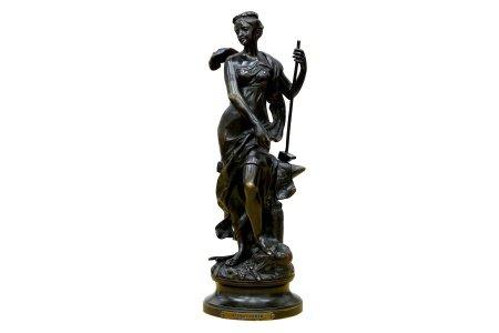 A.Gaudel - Bronze Figure