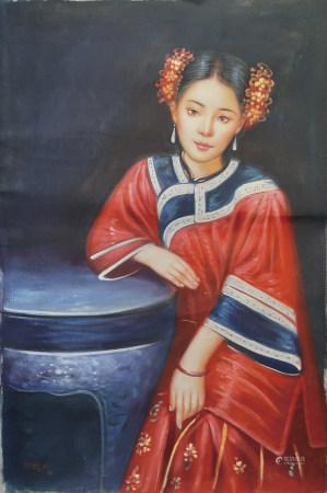 陳逸鳴油畫人物
