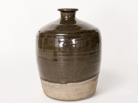 元明時期-磁州窯褐釉嘟嚕瓶