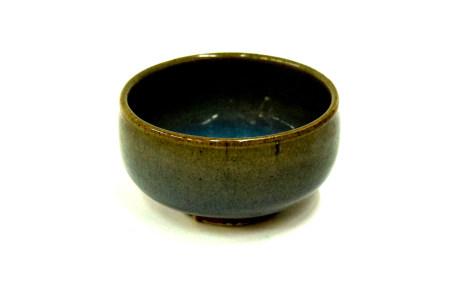 金元時期-鈞窯天藍釉直筒杯