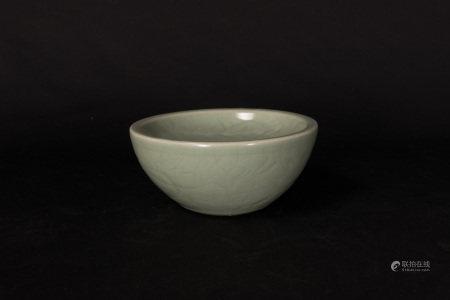 元代-龍泉窯孔明碗