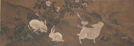 黃荃 畫兔