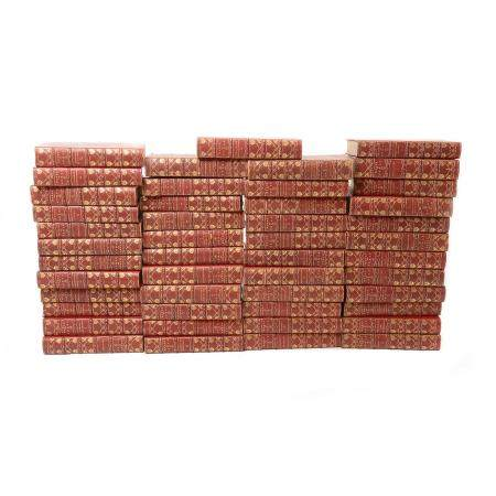 "1888 Forty Seven Volume Set of ""Works of Dumas"""