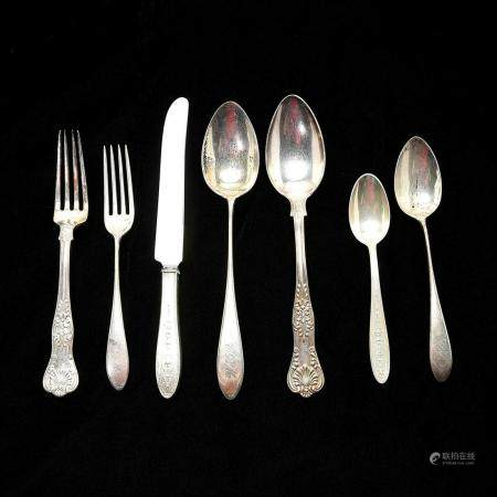 Sterling Silver and Other Flatware Including Tiffany &