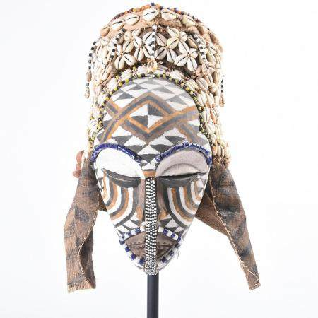Kuba Headdress and Mask.