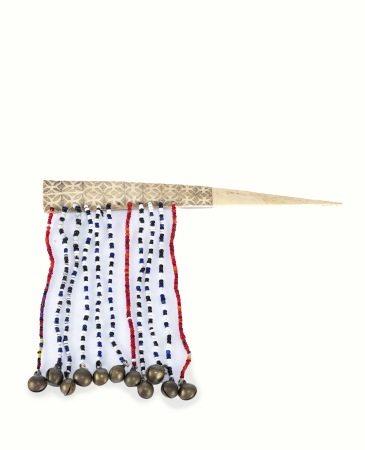 原住民 布農族 骨雕髮飾