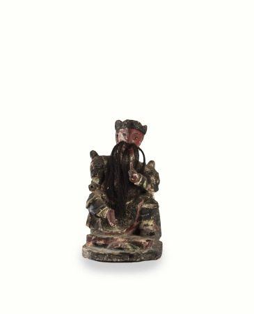 平埔族 法主公木雕佛像
