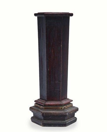 黑紅漆檜木籤桶