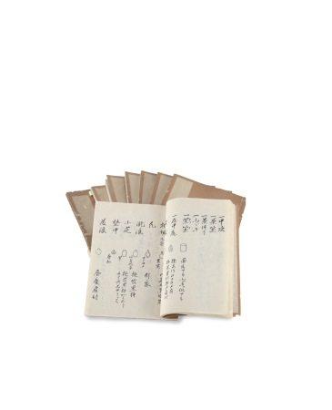 萬延元年 茶道 和本七冊