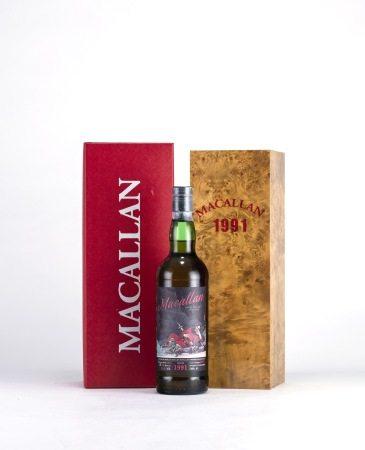 麥卡倫Macallan  1991年 單一純麥威士忌 私人訂製款「鎮宅賜幅鍾馗」