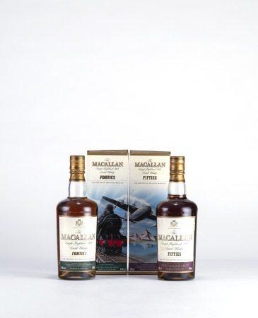 MACALLAN FORTIES、FIFTIES 麥卡倫旅行組 1940、1950 威士忌