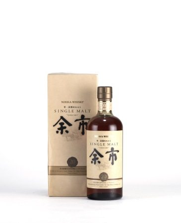 NIKKA YOICHI 20 years 余市 20年 單一純麥威士忌
