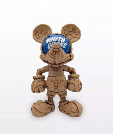 Thunder Mates Laurence Vallieres Mickey Mouse 勞倫斯·瓦利耶雷斯 米奇雕塑 Youth Quake