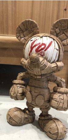 Thunder Mates Laurence Vallieres Mickey Mouse 勞倫斯·瓦利耶雷斯 米奇雕塑 Yo!