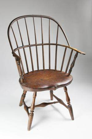American Sack Back Windsor Armchair, circa 1790
