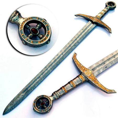THE REVENANT Damascus Sword