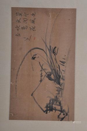 A Chinese Painting, Zhuda Mark