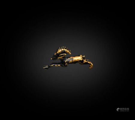 Egyptian Gold Gazelle Amulet