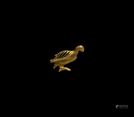 Egyptian Gold Vulture Amulet