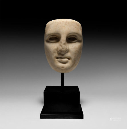 Greek Marble Face