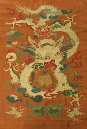 Chinese Kesi Panel 19th Century
