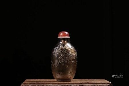 Chinese Quartz Snuff Bottle