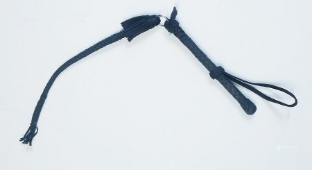 early 20C Cossacks leather whip