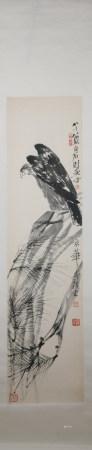 Modern Qi baishi's eagle painting