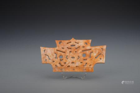 Qing dynasty jade bi