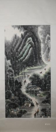 Modern Li keran's landscape painting
