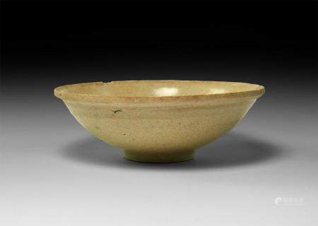 Chinese Song Glazed Celadon Ware Bowl