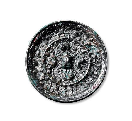 海兽葡萄镜