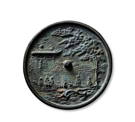 唐王游月宫镜