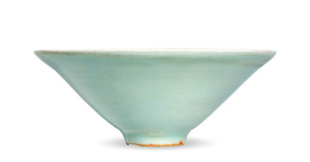 龙泉窑笠式盏
