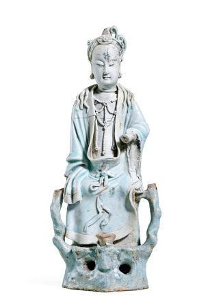 湖田窑瓷塑人物
