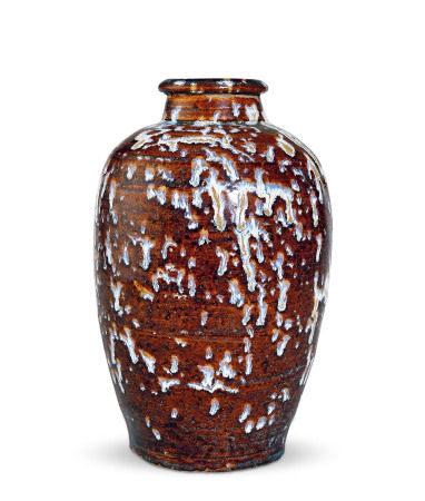 吉州窑玳瑁梅瓶