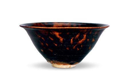 吉州窑玳瑁盏
