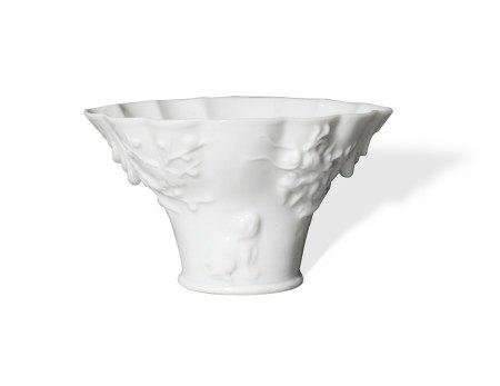 A Dehua White-Glazed Cup清 德化白瓷杯