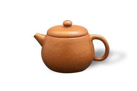 A Fine Small Yixing Teapot, 18th Century18世纪 宜兴紫砂茶壶