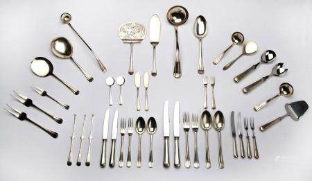 A Dutch silver collection of flatware, Christa Ehrlich